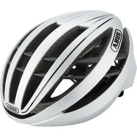 ABUS Aventor Road Helmet gleam silver
